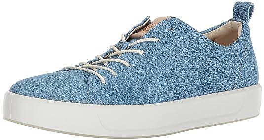 Ecco Soft 8, Zapatillas Para Hombre, Azul (Indigo 5/Powder), 45 EU