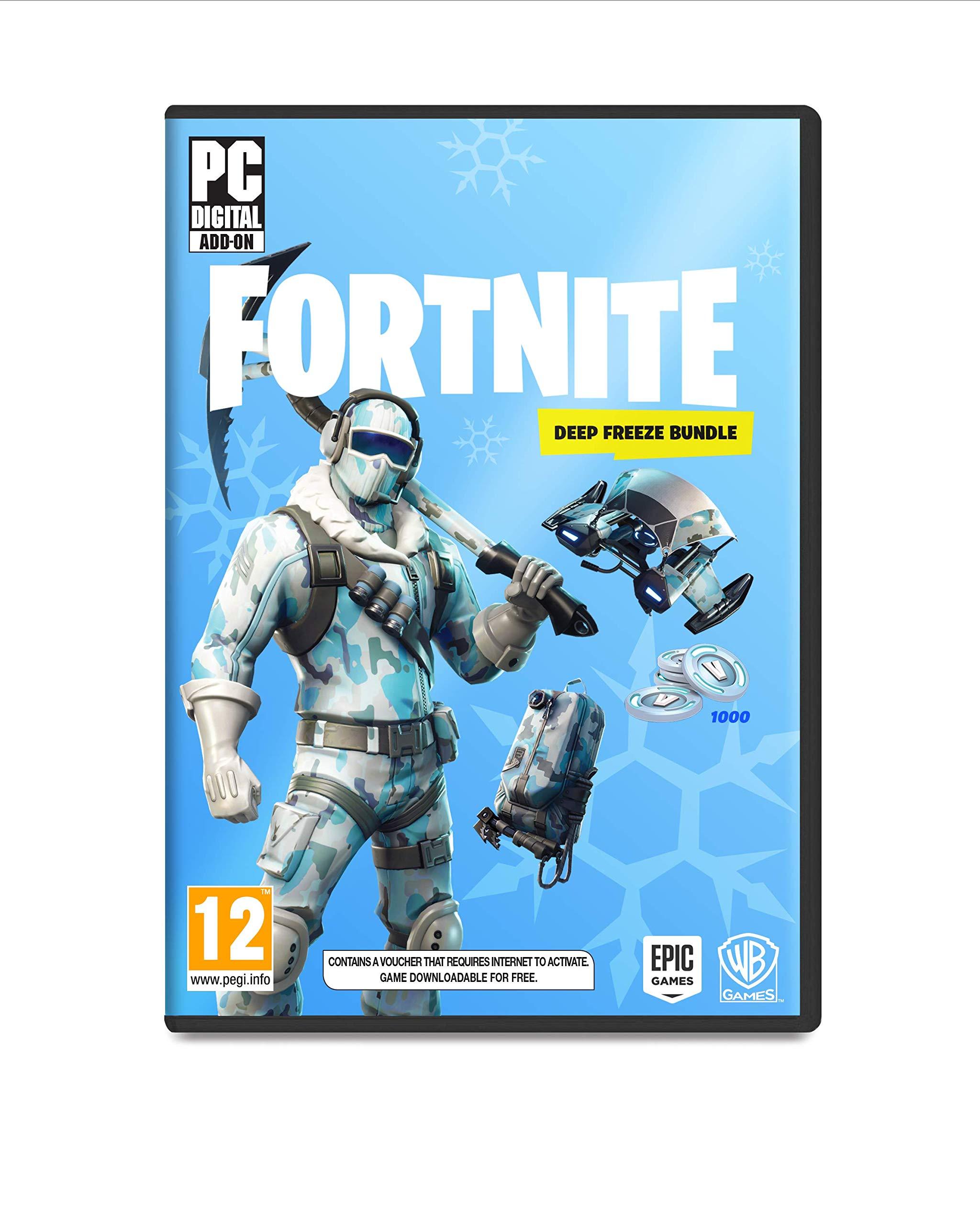 Amazon.com: Epic Games Compatible Fortnite: Deep Freeze ...