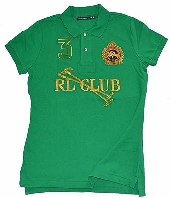 Ralph Lauren - Polo - Camisa polo - para mujer verde X-Small ...