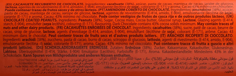 Conguitos Cacahuete con Chocolate - 450 gr: Amazon.es: Alimentación y bebidas