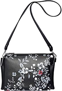 Fiorelli Womens Lola Cross-Body Bag Black (Black Quilt)  Amazon.co ... c1c6aab665f34