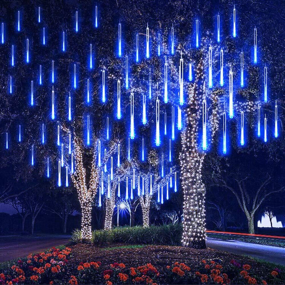 42677557529 Estas luces vienen en tubos con forma de gotas de lluvia que puedes  programar para que se enciendan y apaguen una a una o por turnos de forma  rápida.