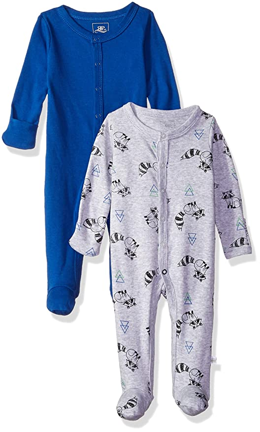 784e968c9 Amazon.com: Rosie Pope Baby Boys' Coveralls 2 Pack: Clothing