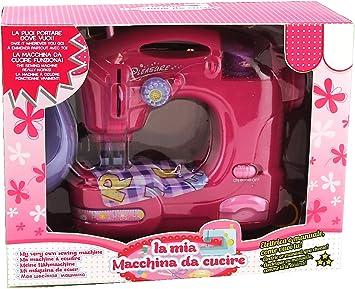 Globo - Máquina de coser de juguete, con luz, funciona a pilas ...