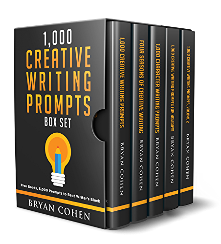 1;000 Creative Writing Prompts Box Set: Five Books; 5;000 Prompts to Beat Writer�s Block