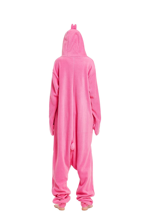Fandecie Costume Animale Costume Animale Pigiama Pigiama Tuta Kigurumi Pinguino Donna Uomo Cosplay Adulto per Carnevale Animale Halloween