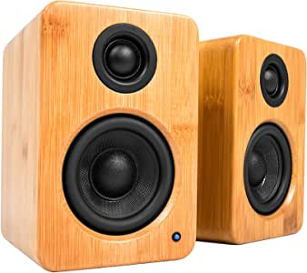 Kanto YU2 Powered Desktop Speakers (Bamboo)