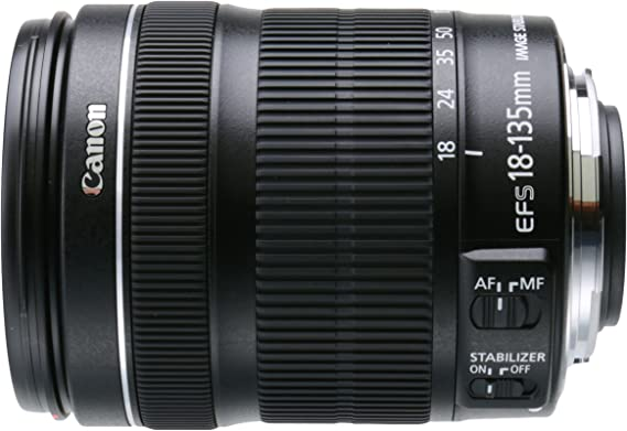 Canon EF-S 18-135mm f/3.5-5.6 IS STM Lens(White box
