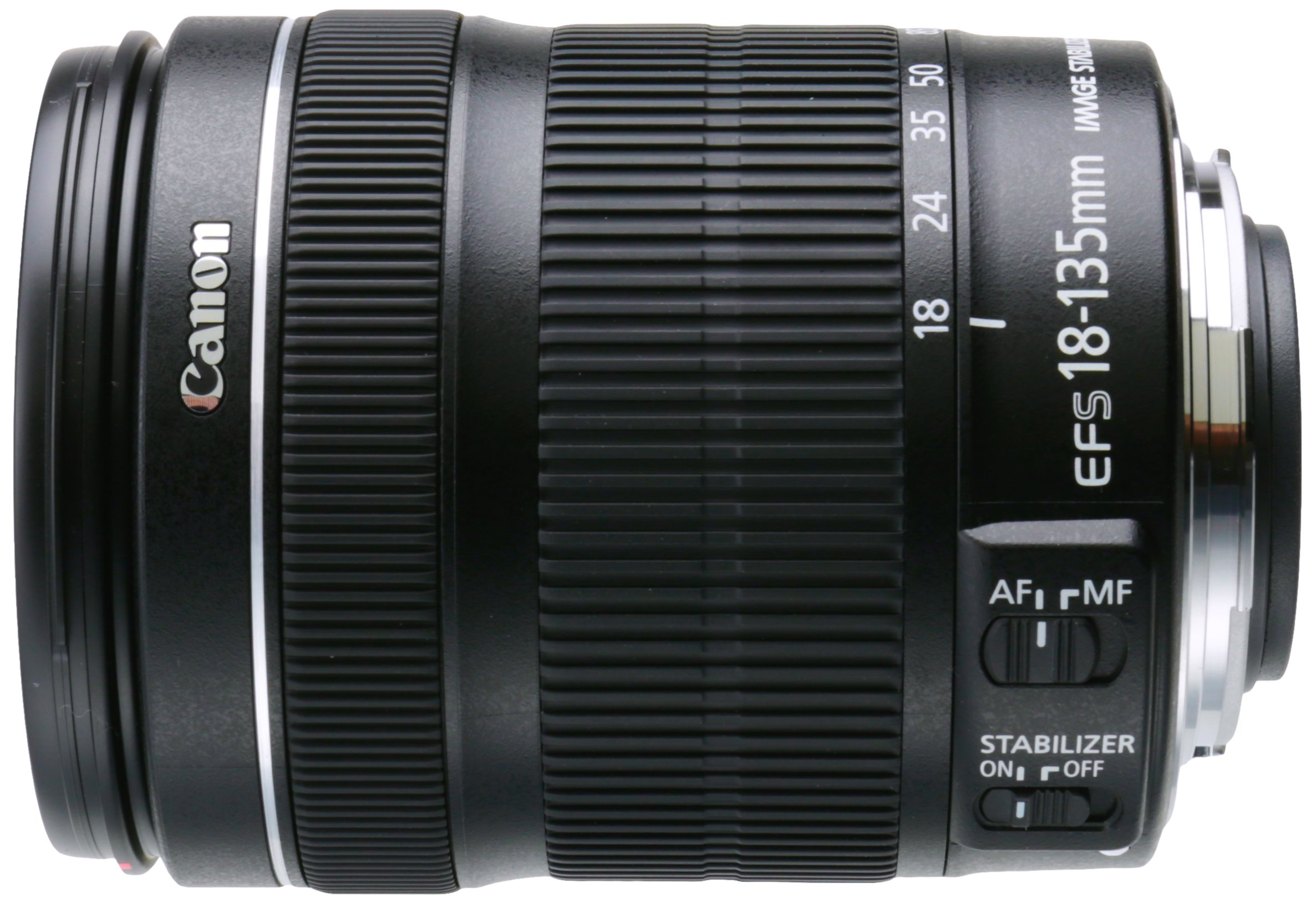 Canon EF-S 18-135mm f/3.5-5.6 IS STM Lens(White box, New) by Canon
