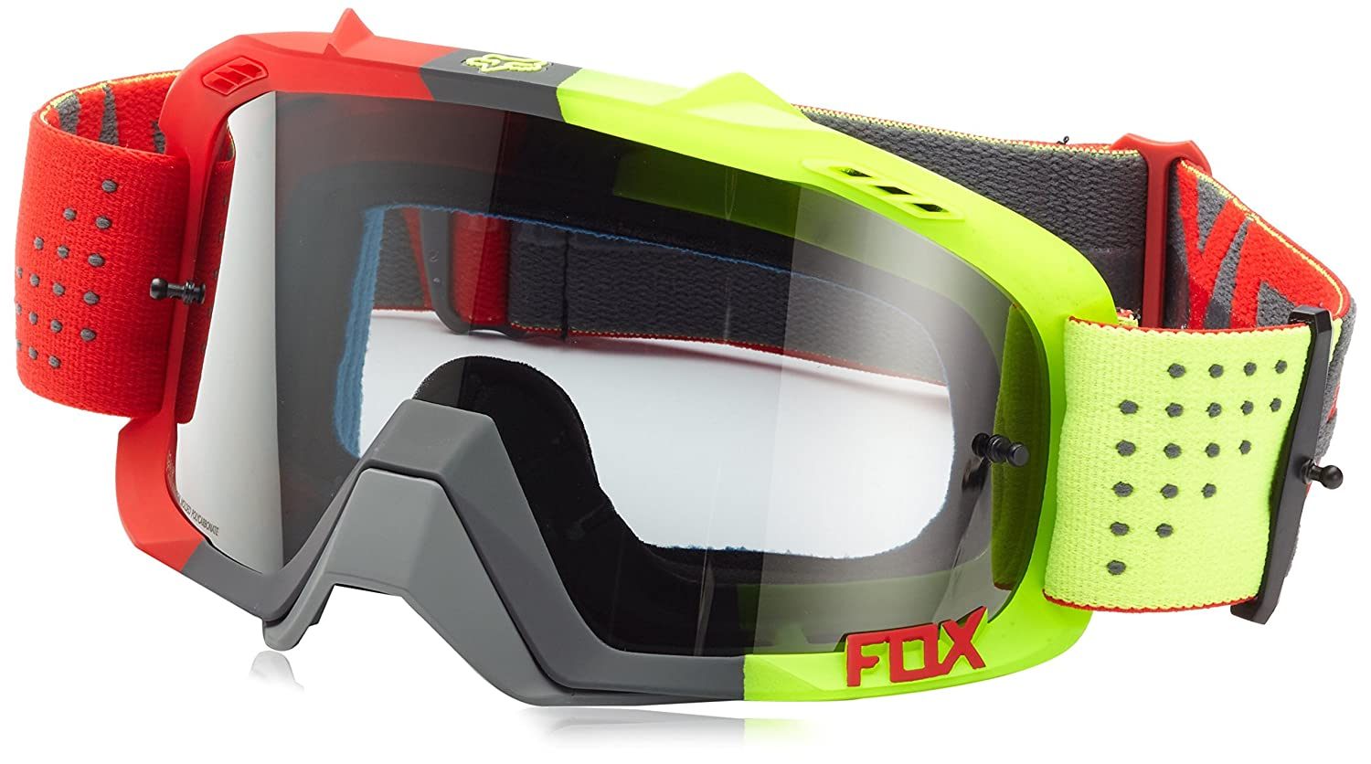 Hombres OS Red//Yellow Fox 15359-903-OS Goggles