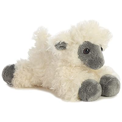 "Aurora - Mini Flopsie - 8"" Black Face Sheep: Toys & Games"