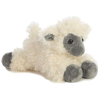 """Aurora - Mini Flopsie - 8"""" Black Face Sheep: Toys & Games"""