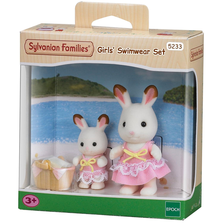 Sylvanian Families Seaside Girls Swimwear 2 Figure Pack