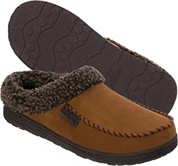 ee3e4a103a3 Dearfoams MFS Men s Clog Slipper with Whipstitch from Shoes.com for ...