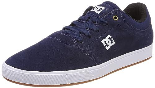 DC Shoes Crisis, Scarpe da Ginnastica Basse Uomo, Rosso (Burgundy/Tan), 39 EU