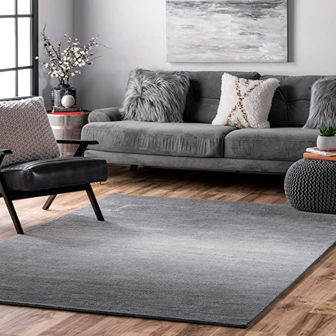 Nuloom Bernetta Hand Tufted Ombre Area Rug 5 X 8 Grey Amazon Ca Home Kitchen