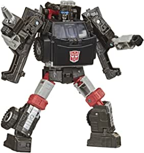 "Transformers Generations - War For Cybertron: Earthrise Deluxe - 5.5"" Trailerbreak - Wfc E34 Action Figure - Kids Toys - Ages 8+"