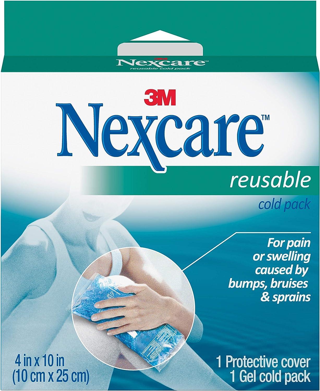 Nexcare Reusable Cold Pack, 1-Count Boxes (Pack of 4): Amazon.es: Bebé