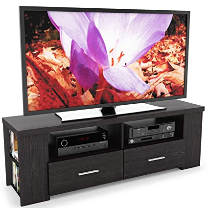 Amazon Com Sonax B 101 Rbt Bromley Tv Stand Ravenswood Black