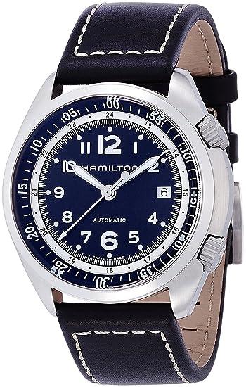 Hamilton reloj caqui Piloto Pionero Automático h76455733 hombre [Regular importados]: Amazon.es: Relojes
