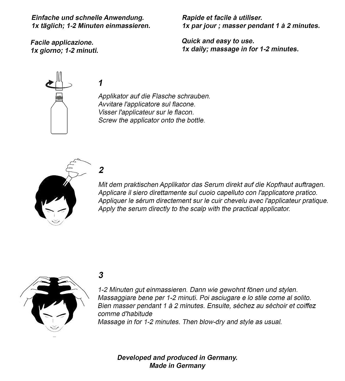 thiocyn pelo Serum para mujeres • Científico fundierte especial Cuidado contra caída del cabello • sin hormonelle ingredientes • alterunsabhängig wirksam ...