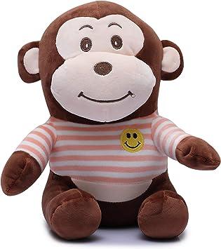 Fiddlys High Quality Huggable Soft Toy/ Stuff Toy (Cute Monkey, 25 cm)