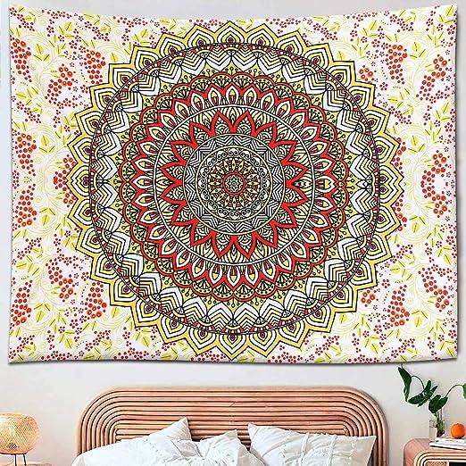 Hippie Beautiful Mandala Tapestry Wall Hanging Living Room Bedroom Dorm Decor