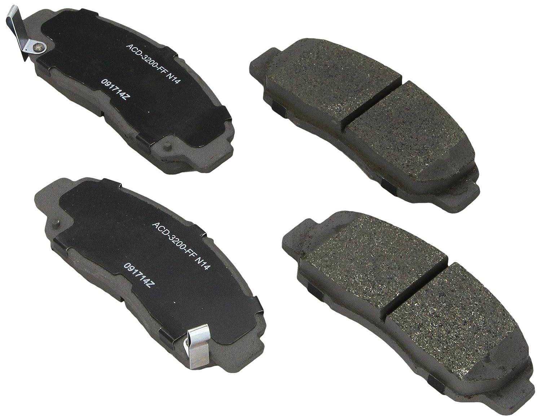 ACDelco 14D666CH Advantage Ceramic Rear Disc Brake Pad Set