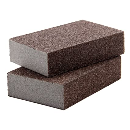 8 Pcs) Sanding Sponge,40//60//80//120//4 Different Coarse Fine Specifications Sanding Blocks Assortment,Washable and Reusable.