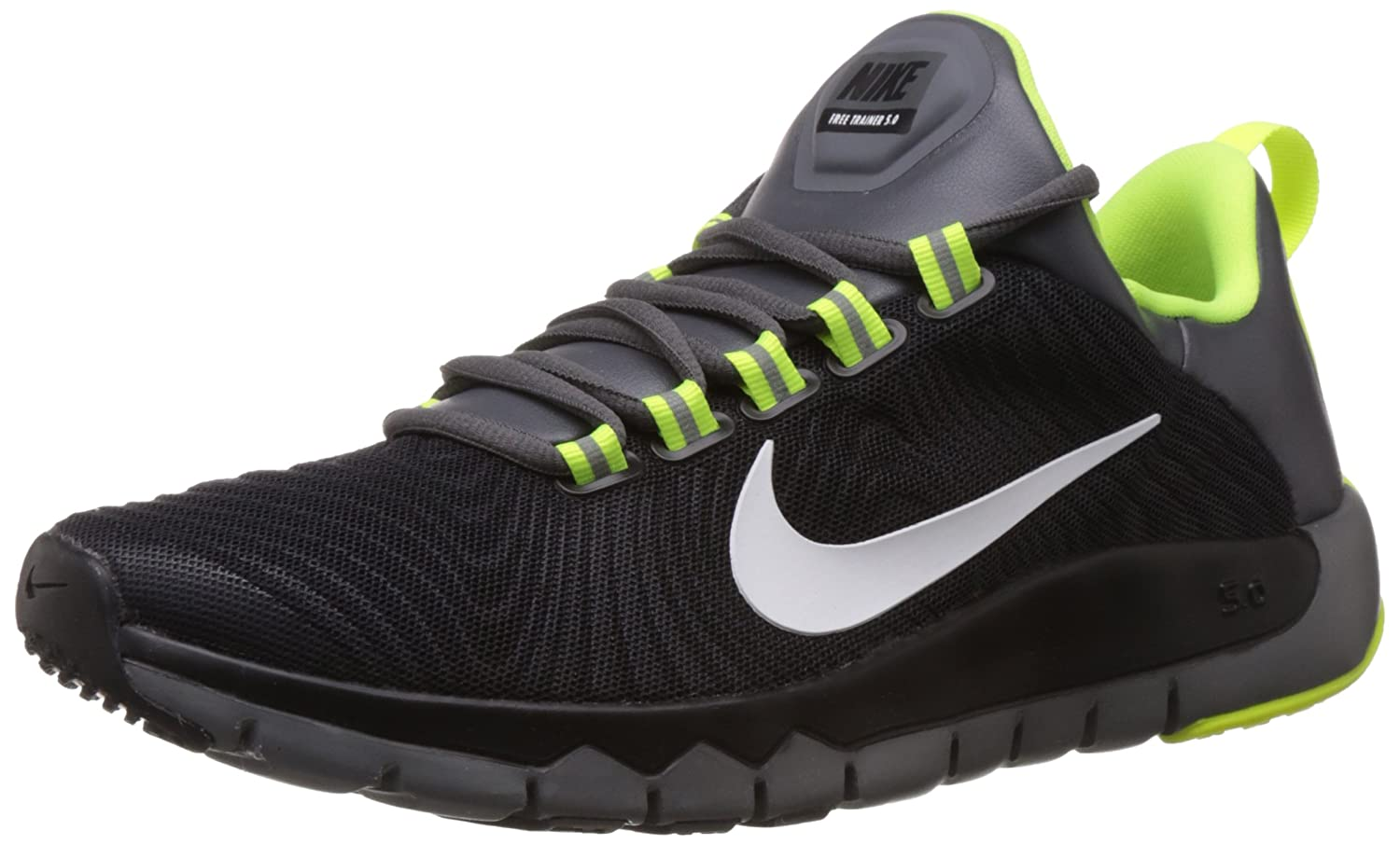 nike mens free trainers 3.0 - magnet grey\/black screen