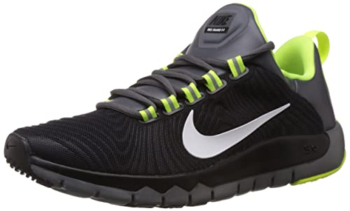 pretty nice d9b87 ec840 Nike Men s Free Trainer 5.0 (V5) Black,White,Dark Grey Outdoor Multisport
