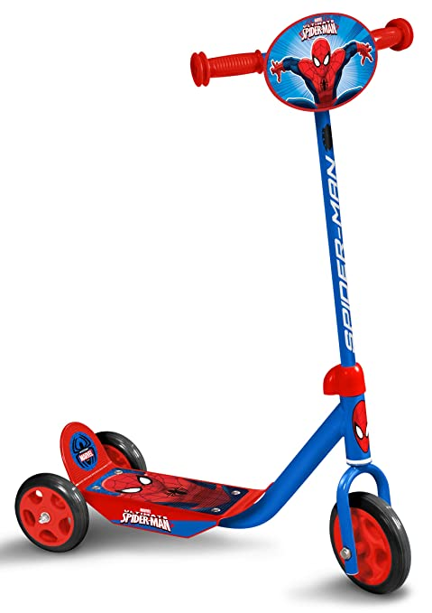 STAMP SAS Spiderman Scooter, Niños, Blue, 2+: Amazon.es ...