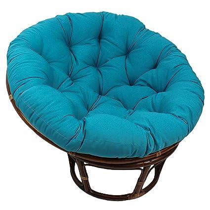 Wonderful Blazing Needles Solid Twill Papasan Chair Cushion, 52u0026quot; X 6u0026quot; ...