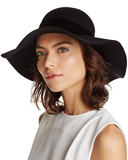 Image Unavailable. Image not available for. Color  Filippo Catarzi Women s  Wool Velvet Band Floppy Hat Fedora ... 9552960f8b31