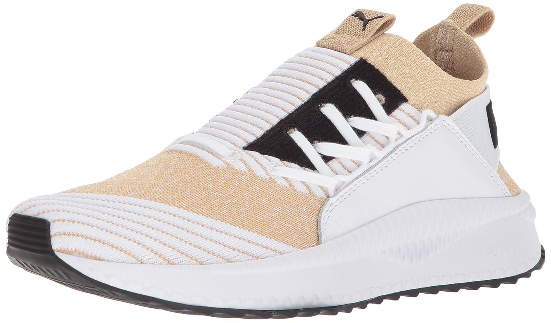 PUMA Women's Tsugi Jun Sneaker B074KJ9297 7.5 B(M) US|Pebble-puma White-puma White