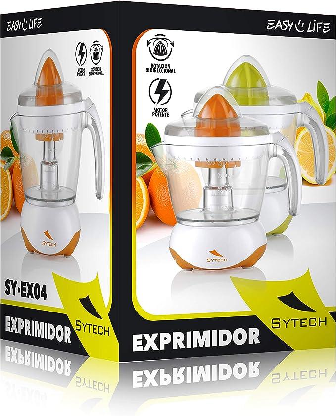 SYTECH SY-EX04 Exprimidor de 700ML,Rotación 2 sentidos, 25W. de ...