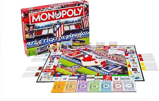 Monopoly Atlético de Madrid (Producto Oficial): Amazon.es ...