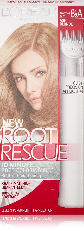 L'Oreal Paris Root Rescue Hair Color, 8.5A Ash Blonde