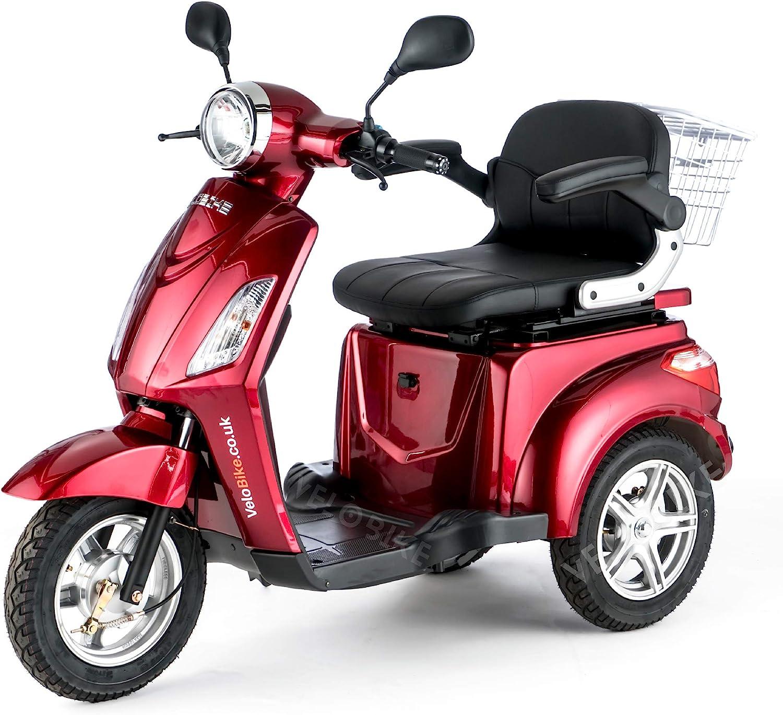 VELECO ZT15 Scooter Eléctrico de 3 Ruedas Mayores Minusvalido 900W
