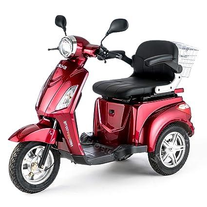 Reducida, Emóvil, vehículo Avcibase, E-triciclo, 25 kilometros/h, colour azul