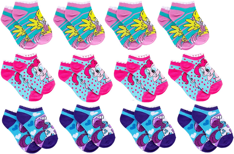 Girls My Little Pony Ankle Socks 3 PAIRS