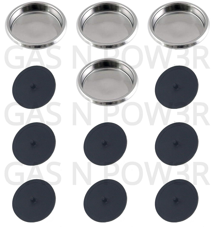 Disco ciego Puly Caff de 58 mm para máquinas de café expreso ...