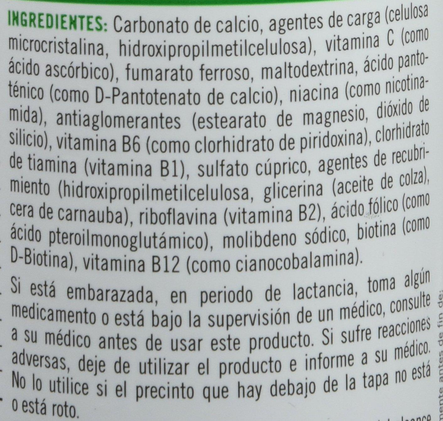 Natures Bounty-Hierro Gentle Complex con Vitaminas C y B12-100 cápsulas: Amazon.es: Salud y cuidado personal