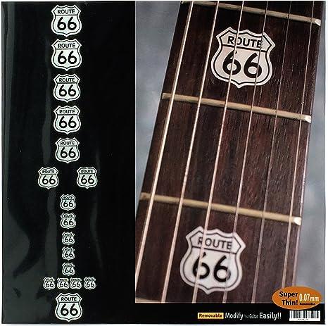 E Gitarre Griffbrett Dekor Inlay Aufkleber Marker Aufkleber für Akustische