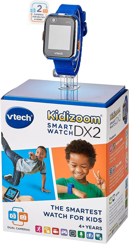 VTech- Kidizoom Smart Watch DX2 Juguete, Color Azul, 1.5 x 4.6 x 22.4 cm (193803)