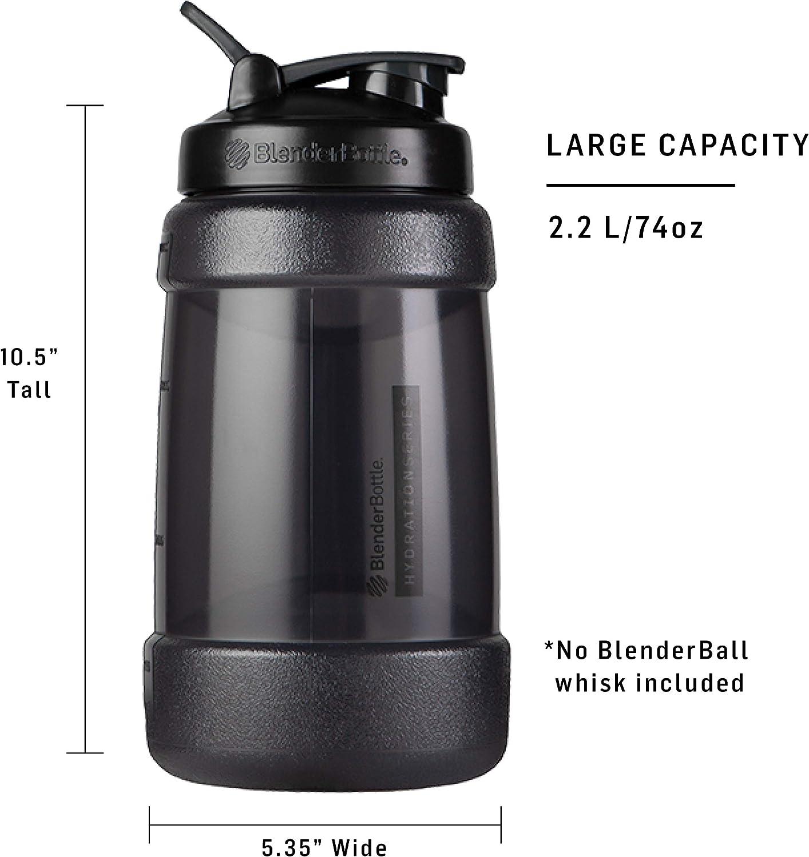 Black 45-Ounce BlenderBottle C04435 Classic V2 Shaker Bottle