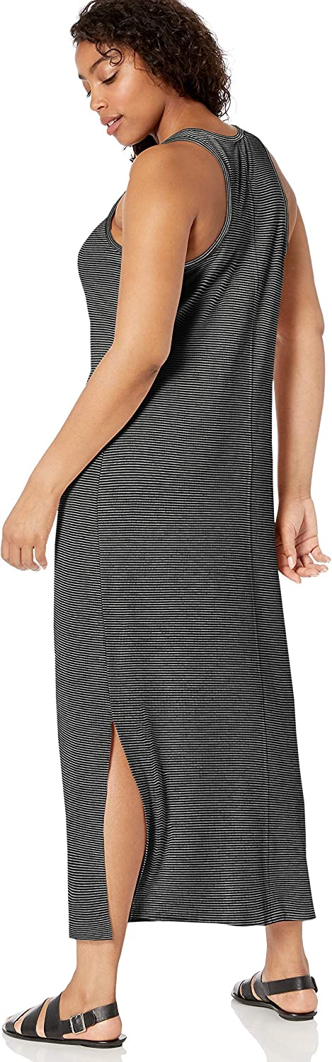 Daily Ritual Womens Supersoft Terry Racerback Maxi Dress Brand
