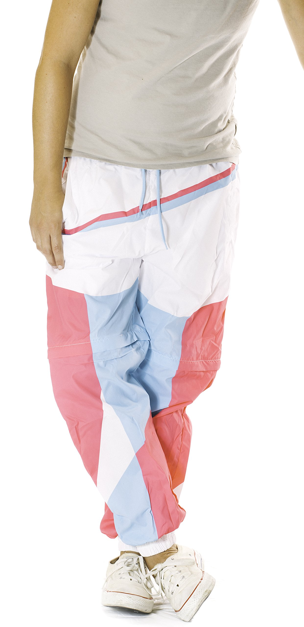 Funny Guy Mugs Tubular Neon Windbreaker Pants, X-Large by Funny Guy Mugs