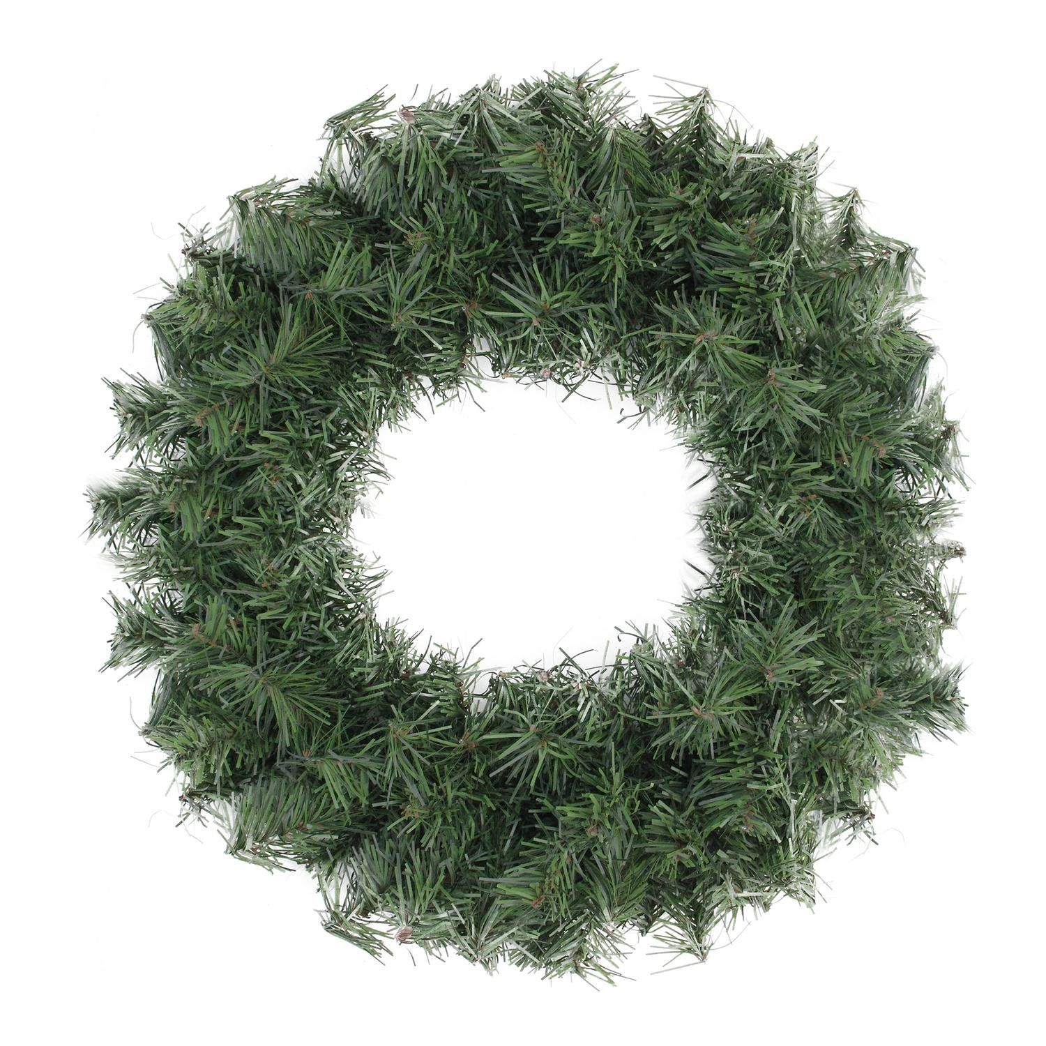 Northlight 18'' Canadian Pine Artificial Christmas Wreath - Unlit
