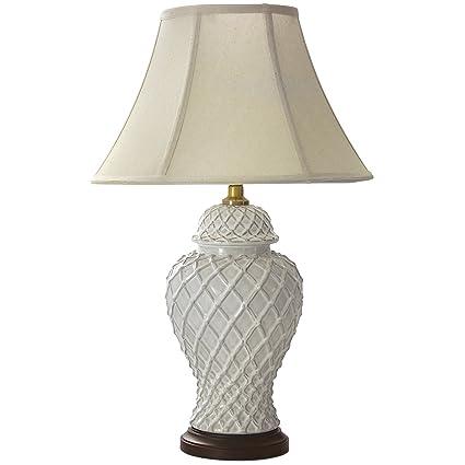 Amazon.com: Oriental Muebles Classic Templo Jar lámpara de ...